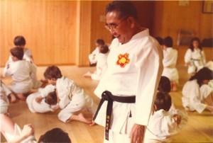 Maître Seikichi Toguchi à Périgueux