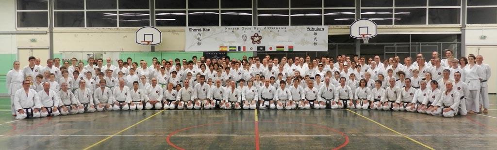 Stage international et centenaire de Sensei Toguchi novembre 2017